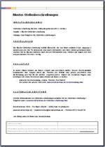 Stellenbeschreibung Fur Betriebsleiter Oder Betriebsleiterin Als Word Vorlage